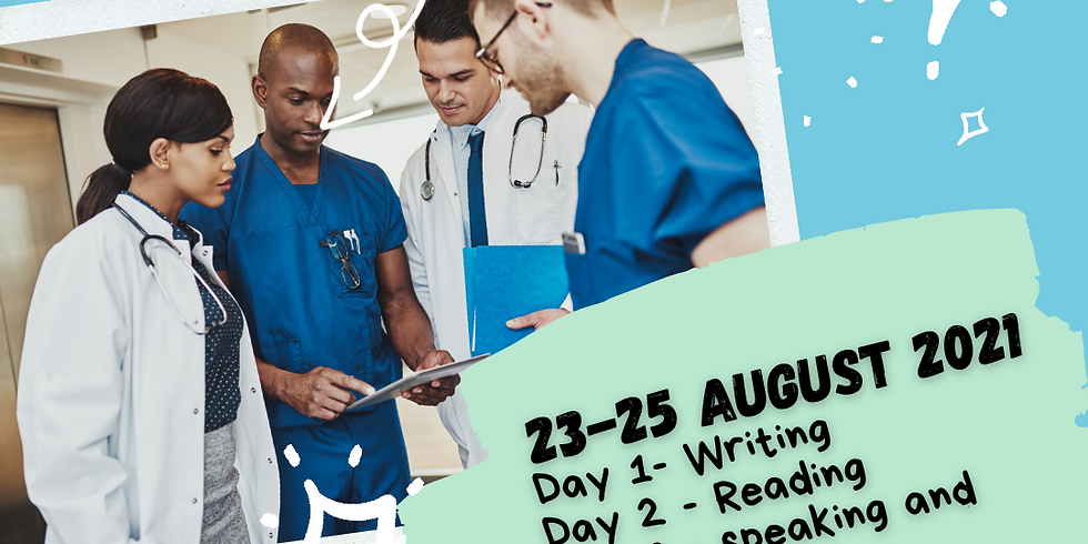 3-Day OET Intensive, London (August)