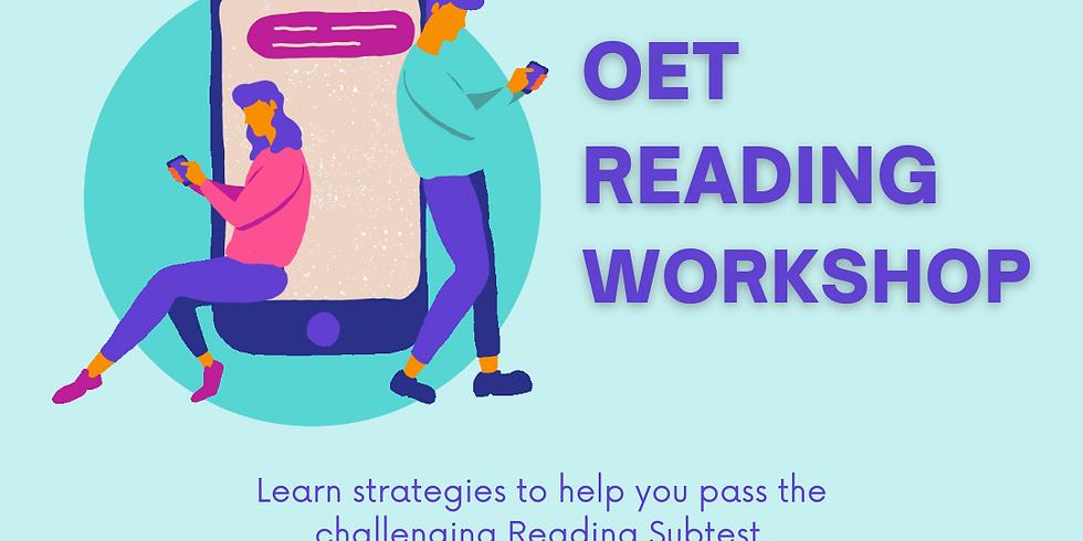 OET Workshop (Reading)