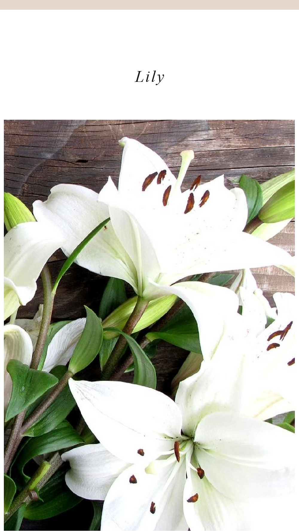 Valentines day flowers with lilies
