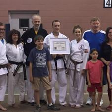 Black Belt Awarded