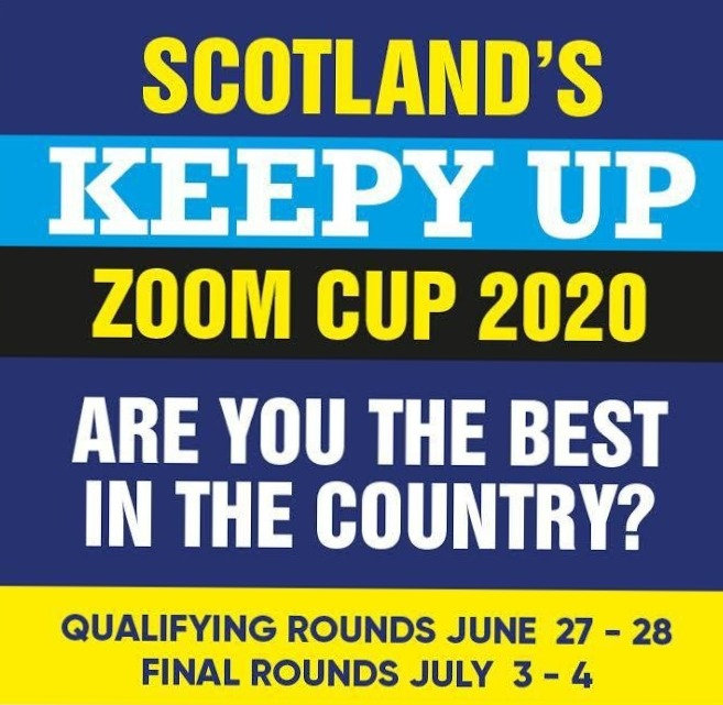 Scotland's Keepy-Up Cup