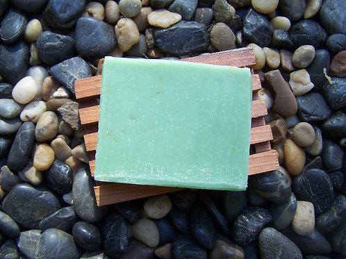 White Sage Hemp-Shea Blend Soap