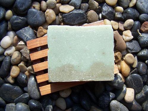 Hinoki Wood w/Matcha and Coconut Milk Soap