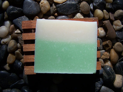 Ginger-Lime Cocomilk Soap w/Cocoa Butter