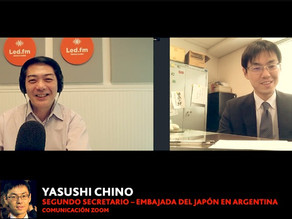 YASUSHI CHINO SEGUNDO SECRETARIO – EMBAJADA DEL JAPON EN ARGENTINA