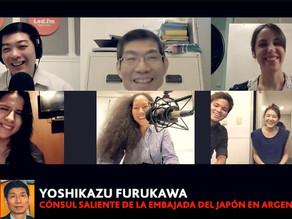 YOSHIKAZU FURUKAWA (CONSUL DE LA EMBAJADA DEL JAPON EN ARGENTINA)