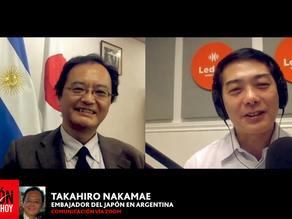 """TAKAHIRO NAKAMAE / CHARLA: """"LOS NIKKEI, CIUDADANOS 200%""""(Embajador del Japón en Argentina)"""