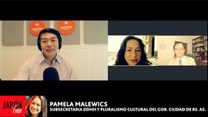 PAMELA MALEWICZ  (SUBSECRETARÍA DDHH Y PLURALISMO CULTURAL GOB. CIUDAD BS. AS.)