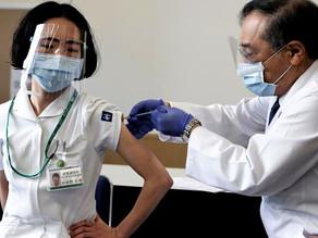 JAPON: VACUNACION DEL PERSONAL MEDICO SE COMPLETARÁ A MEDIADOS DE MAYO