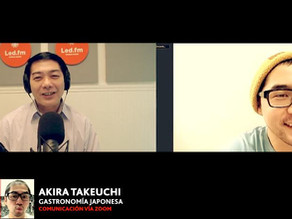 GASTRONOMIA JAPONESA por el chef Akira Takeuchi