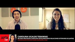 CAROLINA UGALDE TERAWAKI(Directora de Corporación Nikkei Valparaíso – becaria de Gaimusho)