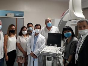 """ENTREGA DE DONACION JAPONESA AL HOSPITAL INTERZONAL """"SOR MARIA LUDOVICA"""""""