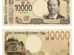 JAPÓN IMPRIME  BILLETES DE 10.000 YENES CON UN NUEVO DISEÑO