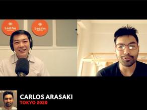 CARLOS ARASAKI  ( XXXII JUEGOS OLIMPICOS TOKYO 2020 )