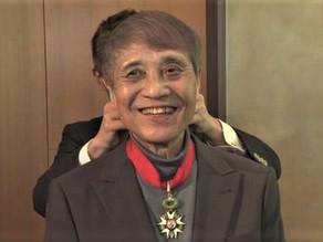 GALARDONAN AL ARQUITECTO JAPONES ANDO TADAO CON LA LEGION DE HONOR EN FRANCIA