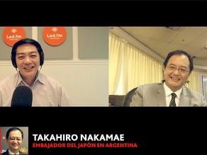 TAKAHIRO NAKAMAE - EMBAJADOR DEL JAPON EN ARGENTINA