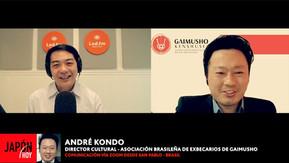 PROYECTOS DE IMPACTO SOCIAL GAIMUSHO (GAIMUSHO KENSHUSEI BRASIL) ANDRE KONDO – DIRECTOR CULTURAL