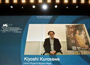 EL JAPONES KIYOSHI KUROSAWA GANA EL LEON DE PLATA A MEJOR DIRECTOR EN EL FESTIVAL DE VENECIA