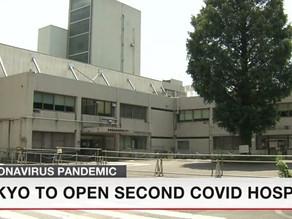 NUEVO HOSPITAL PARA PACIENTES DE COVID-19 EN TOKIO