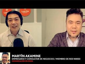 """MARTIN AKAMINE / CHARLA: """"LOS NIKKEI, CIUDADANOS 200%""""(Consultor, miembro REN, Becario de Gaimusho)"""