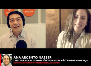 "ANA ARGENTO NASSER   (FUNDACION ""POR IGUAL MAS"" / MIEMBRO DE ABJA)"