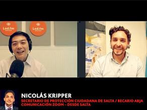 NICOLAS KRIPPER (Secretario de Protección ciudadana de la Ciudad de Salta / de ABJA)