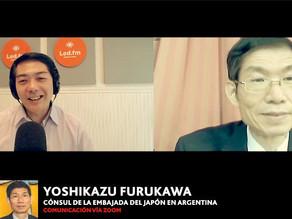 YOSHIKAZU FURUKAWA (CÓNSUL DE LA EMBAJADA DEL JAPÓN EN ARGENTINA)