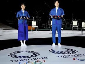 PRESENTACION DEL PODIO OLIMPICO Y MEDALLAS TOKYO 2020
