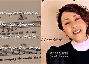 """LA CANTANTE ANNA SAEKI Y DESTACADAS ARTISTAS INTERNACIONALES INTERPRETAN """"CON LAS ALAS DEL ALMA"""""""