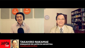 TAKAHIRO NAKAMAE – EMBAJADOR DEL JAPÓN EN ARGENTINA (BALANCE 2020)