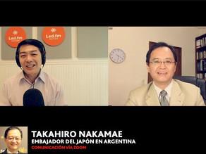 TAKAHIRO NAKAMAE – EMBAJADOR DEL JAPON EN ARGENTINA (BALANCE 2020)