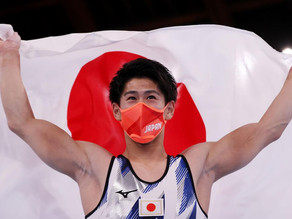 EL GIMNASTA JAPONÉS HASHIMOTO DAIKI GANA SU SEGUNDA MEDALLA OLÍMPICA EN BARRA FIJA