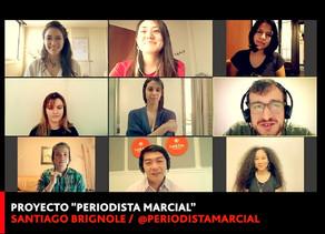 """PERIODISTA MARCIAL"""