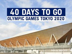 A 40 DIAS DE LOS XXXII JUEGOS OLIMPICOS TOKYO 2020
