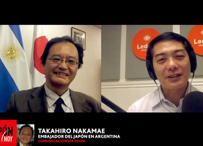 TAKAHIRO NAKAMAE(EMBAJADOR DEL JAPON EN ARGENTINA)
