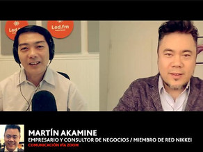 MARTIN AKAMINE(EMPRESARIO Y CONSULTOR, SPEAKER Y COACHING, MIEMBRO Y FUNDADOR DE REN)