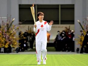 TOKYO 2020: LA ANTORCHA OLIMPICA EMPEZÓ SU RECORRIDO POR TODO JAPON