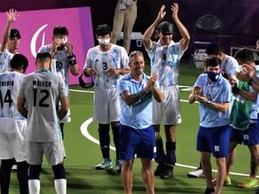PARALIMPICOS TOKIO 2020: LOS MURCIÉLAGOS VENCIERON A CHINA Y SON FINALISTA DEL FUTBOL EN JAPÓN