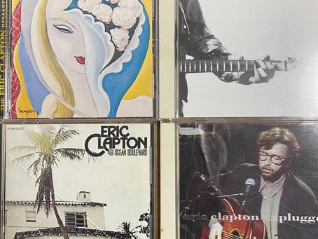 私に影響を与えたアーティストVol.6 (Eric Clapton)