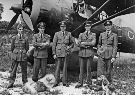 161 Sqn pilots - Rymills far right.jpg