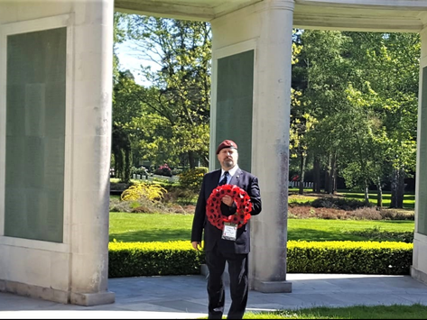 In Memory at Brookwood Military Cemetery