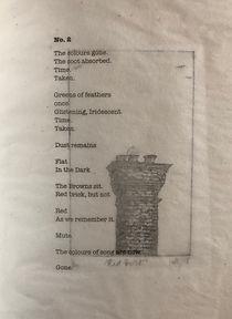 Poem No.2, etching: Red Brick