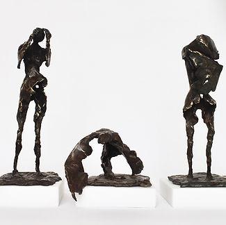 Bronze, marble, 2018