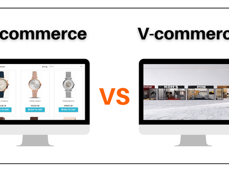 Difference between E-Commerce & V-Commerce
