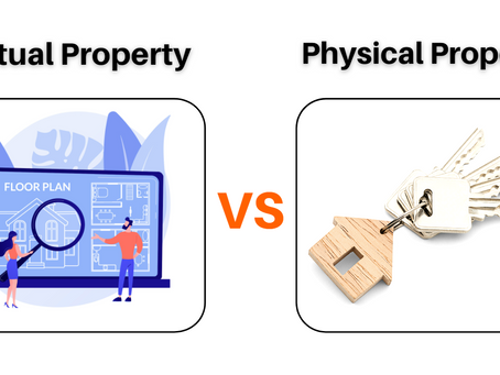 Difference between invest in Physical Property VS Virtual Property