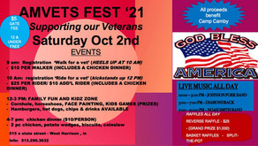 Thank you to AMVETS Post 13 for sponsoring us!
