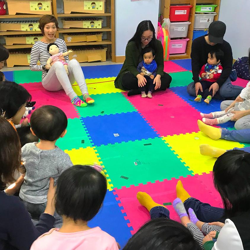 三月份Baby Workshop (8-16 m)