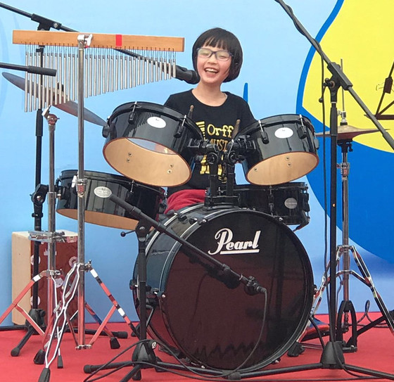 Orff Drums (2018年5-8月)