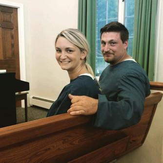 Mr & Mrs Docimo baptized together