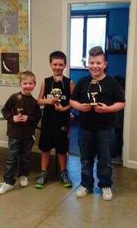 Pinewood Derby Winners!